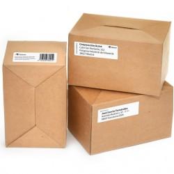 Brother DK-11201 Etiquetas Compatibles ejemplo de etiqueta para paquetes.