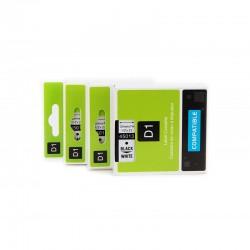 Cinta Dymo D1 45013 etiquetas compatible. medidas 12mmx7m, rollo continuo.