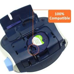 Cinta Dymo LetraTag 91200, 100% Compatible con impresoras LetraTag.
