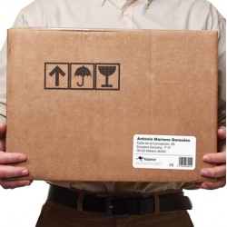 S0722430 Etiquetas Envío Paquetería Grandes. Medidas 101x54mm