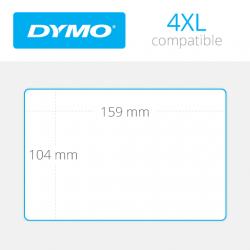 4XL Dymo etiquetas compatibles 159mm x 104mm