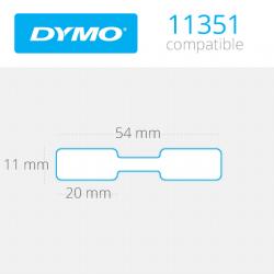 11351 Dymo etiquetas compatibles