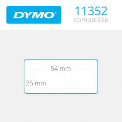 11352 Dymo etiquetas compatibles