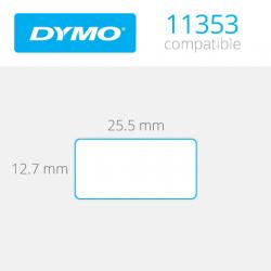 11353 Dymo etiquetas compatibles