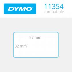 11354 Dymo etiquetas compatibles