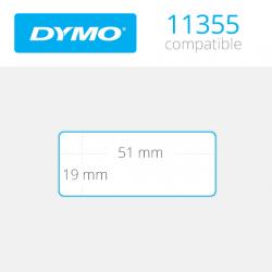 11355 Dymo etiquetas compatibles
