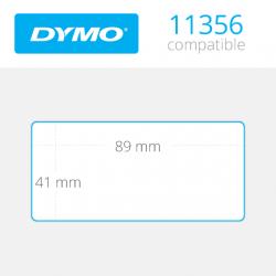 11356 Dymo etiquetas compatibles