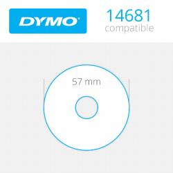 14681 Dymo etiquetas redondas compatibles