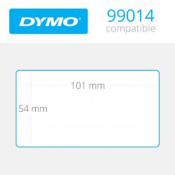 99014 Dymo Etiquetas Compatibles